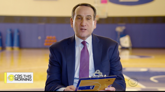 Coach K's Letter to his Younger Self