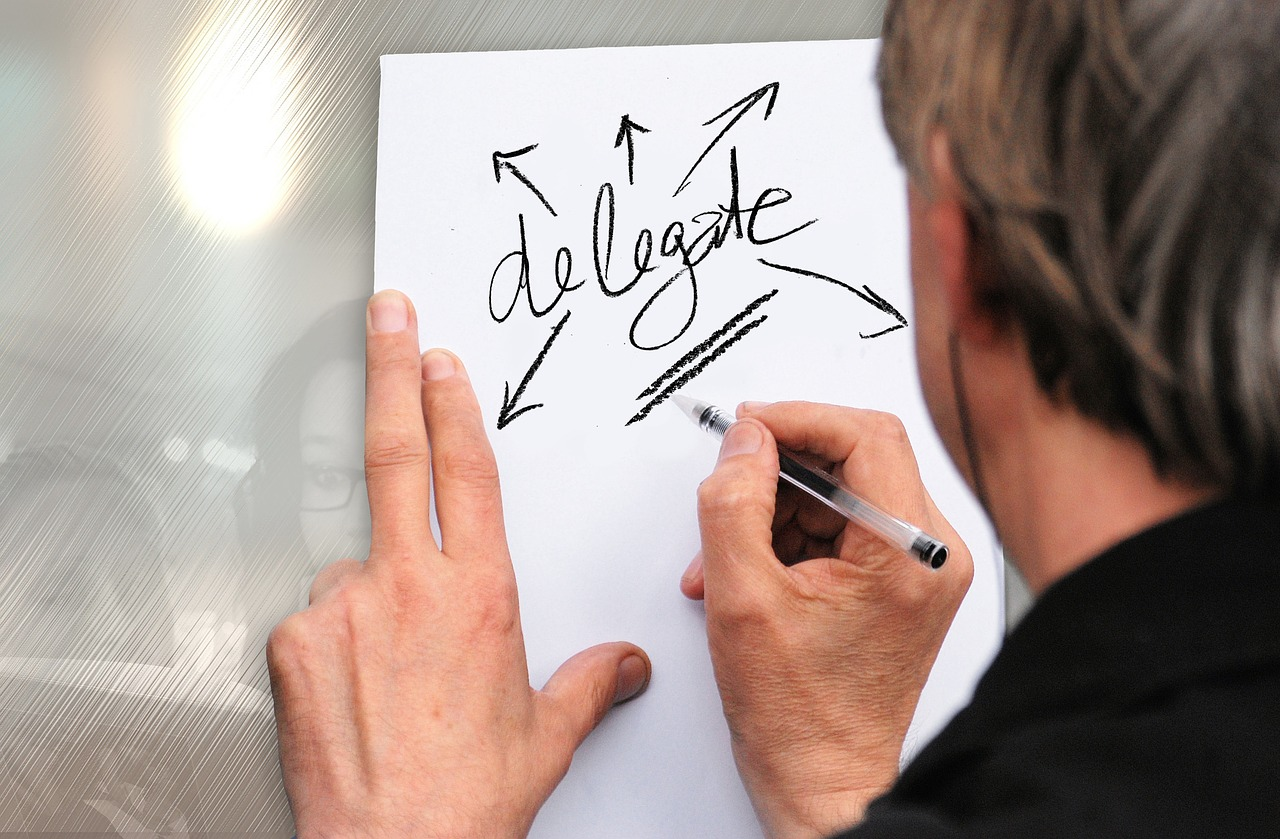 delegate delegar