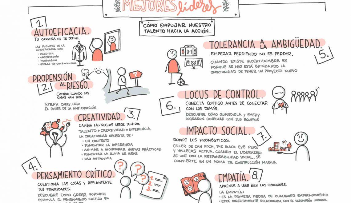 Mejores líderes: 8 claves para pasar a la acción